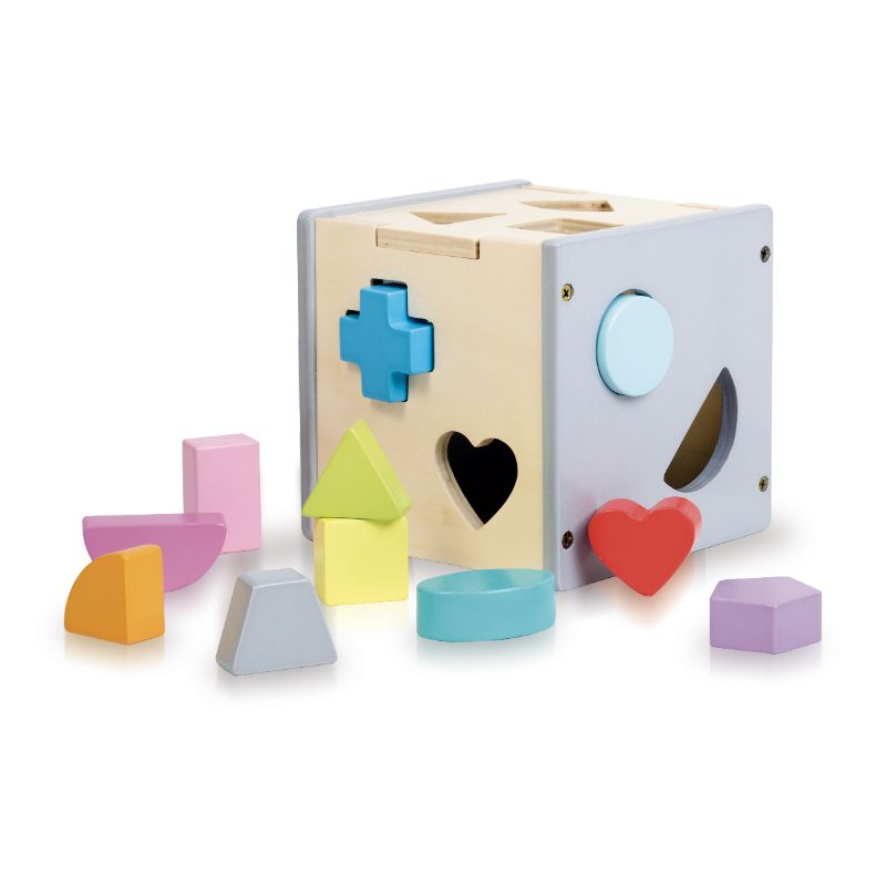 Sassi Book And Wooden Toys Shapes