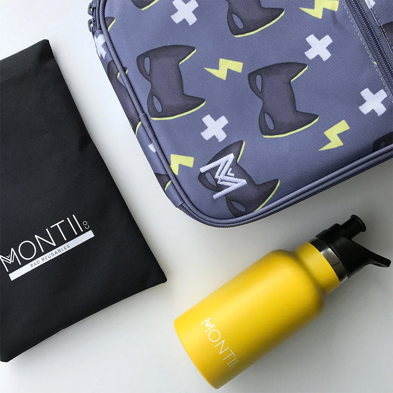 Montiico Superhero Insulated Lunch Bag