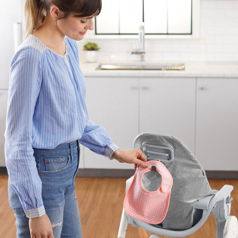 Skip Hop Sit To Step Highchair Grey/White