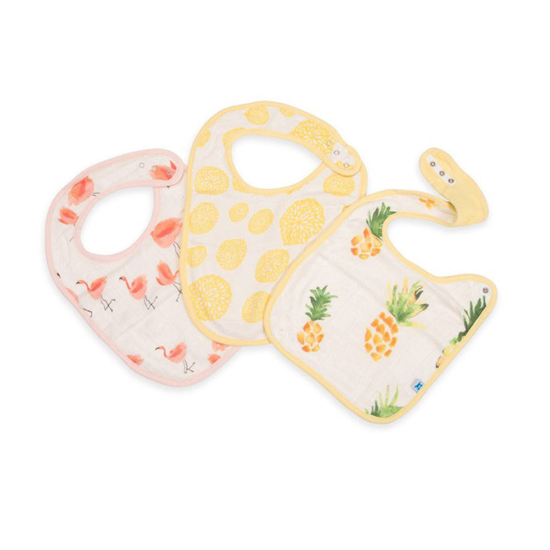 Little Unicorn Deluxe Muslin Classic Bib 3 Pack
