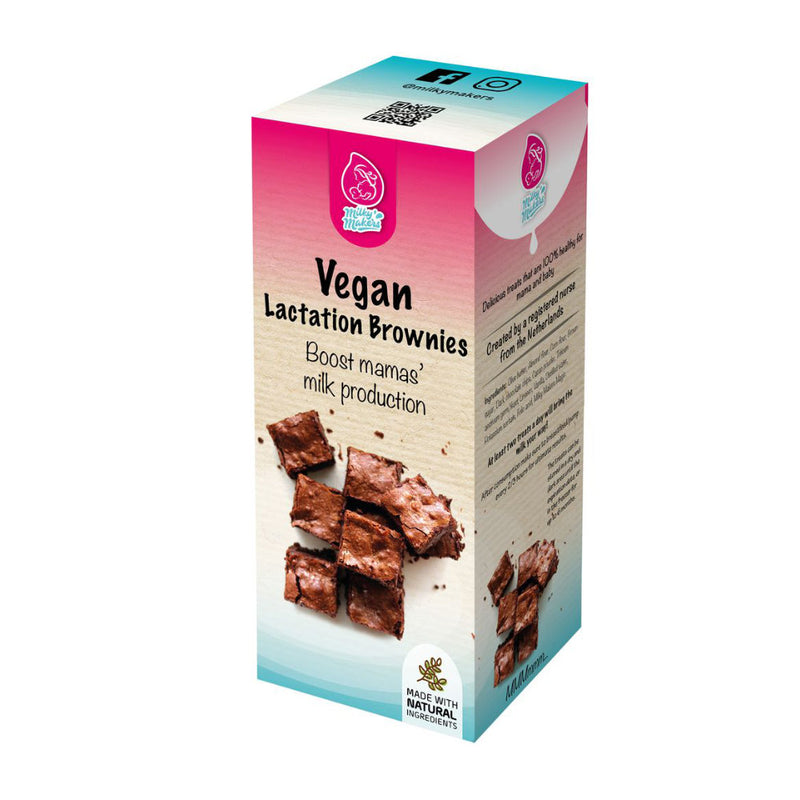 Vegan Lactation Brownies