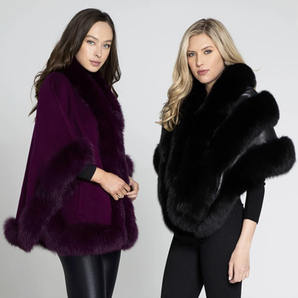 Luxury Fur Wraps