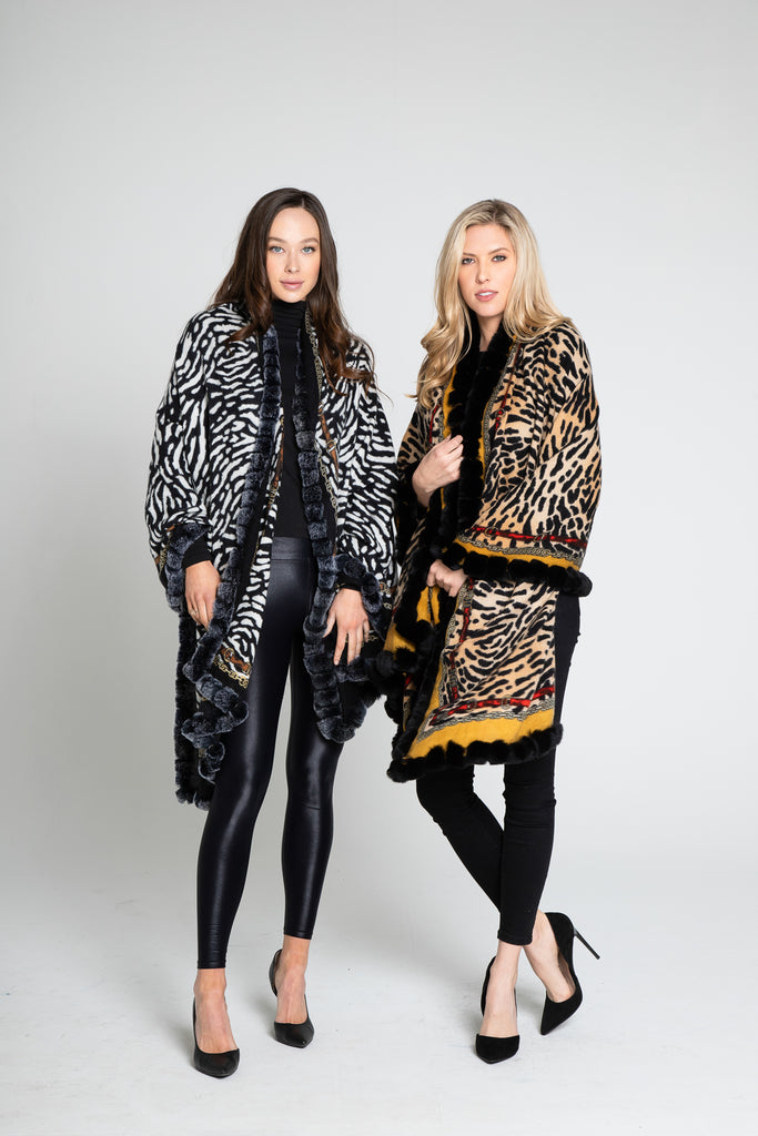 Animal Print Luxury Wrap