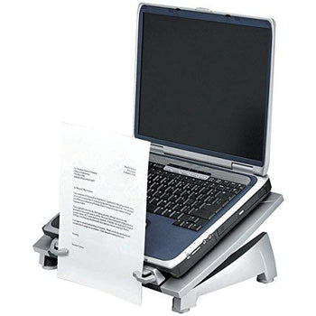 Fellowes(R) 8036701 Office Suites(TM) Best Ergonomic Laptop Riser Plus with copyholder