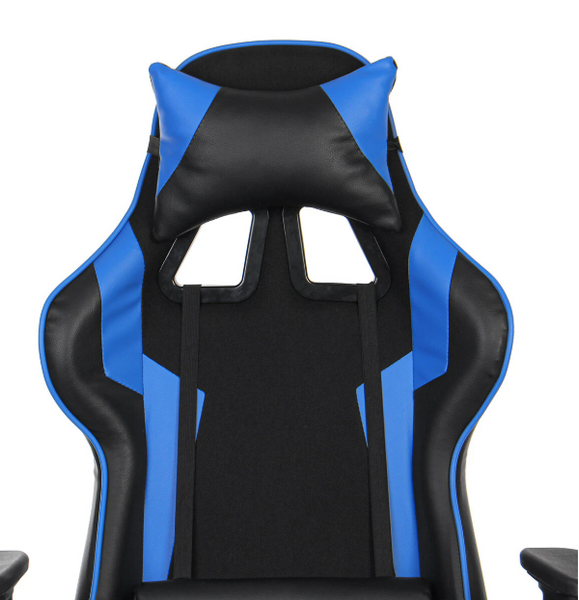 Ergonomic High Back Leather Seat Racing Gaming Recliner Computer Chair with Footrest