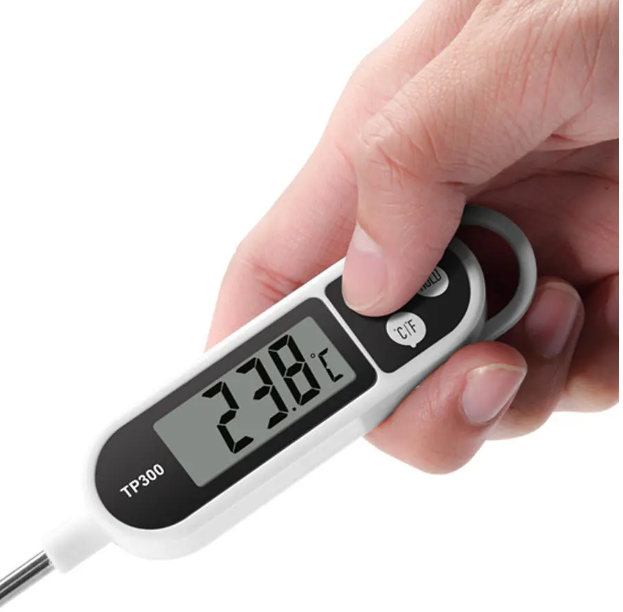 Digital Meat, BBQ, Multi-unit Conversion Cooking Thermometer