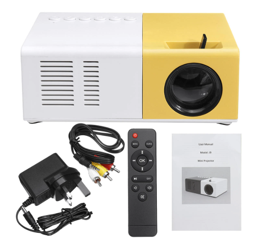 LCD LED 1200 Lumens Portable Office Home Theater Projector