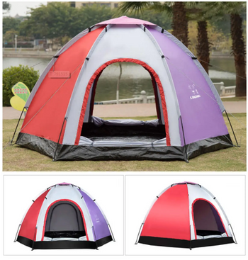 Pop Up Outdoor Family Camping Tent Waterproof UV Light Proof Beach Shelter