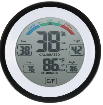 Digital Humidity Temperature Hygrometer Multifunctional Meter