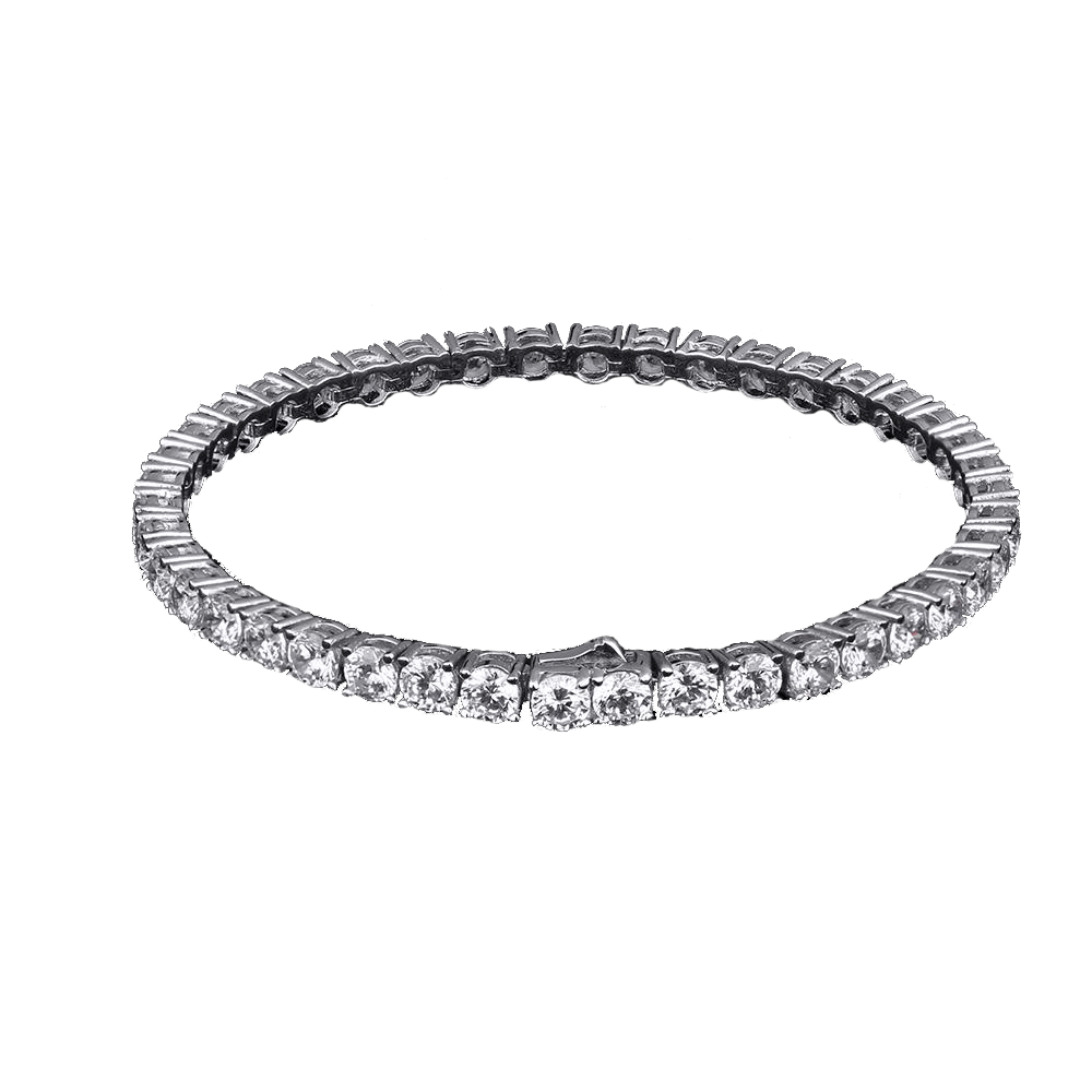 ESKIMO Jewelry Bracelet 4mm Diamond Tennis Bracelet