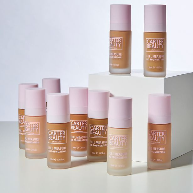 Carter Beauty Full Meausre Foundation