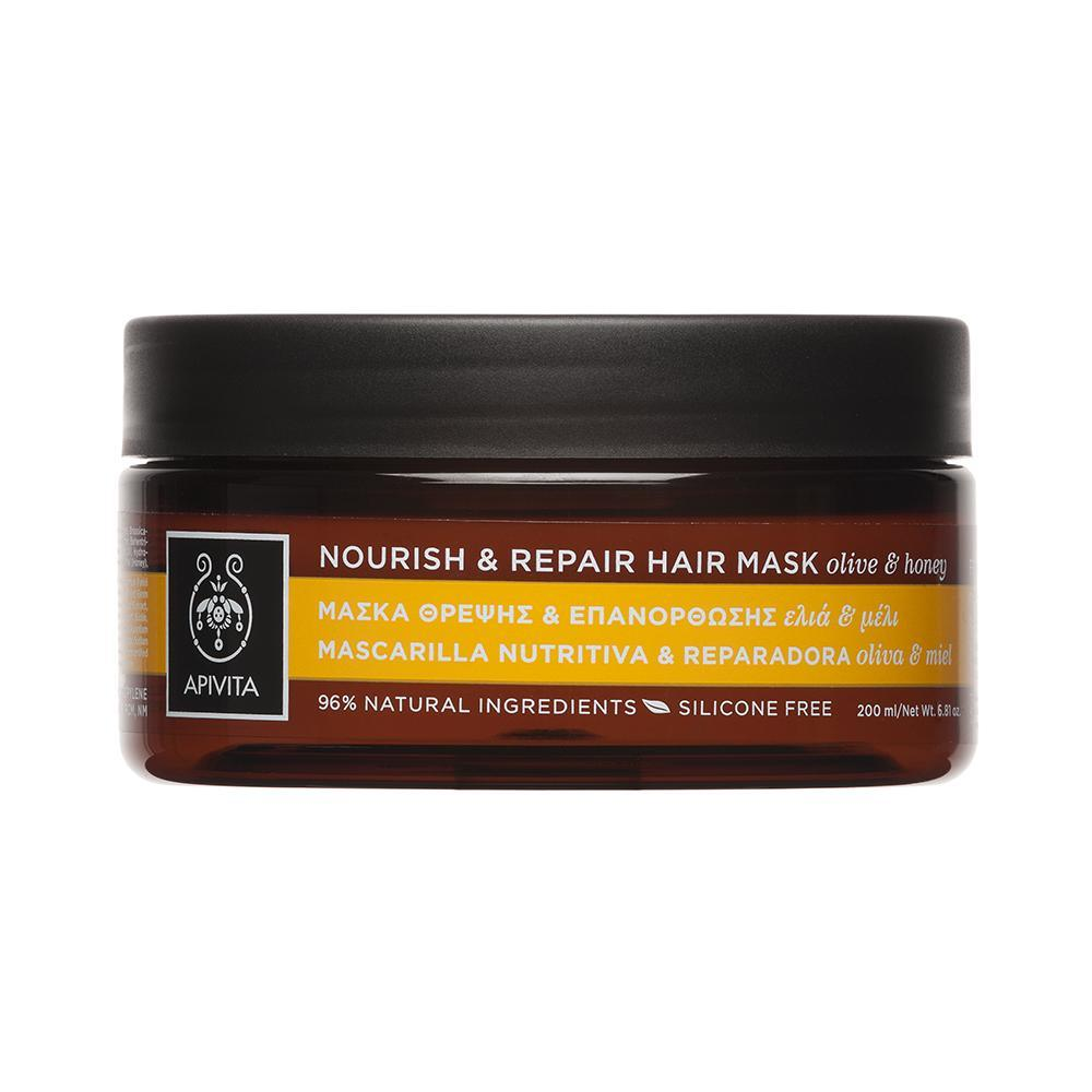 Apivita Nourish & Repair Hair Mask