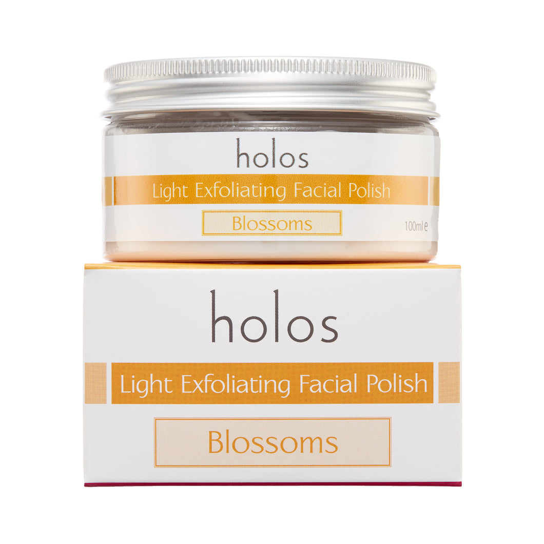 Holos Blossoms Light Exfoliating Facial Polish
