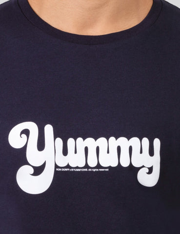 T SHIRT NAVY YUMMY