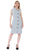 Savvy Dress Grey - LAST CHANCE - SIZE 14
