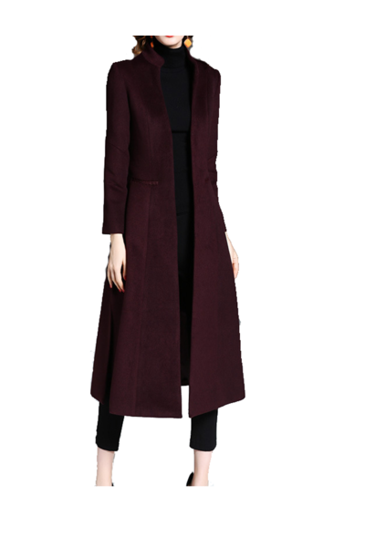 High Collar Coat