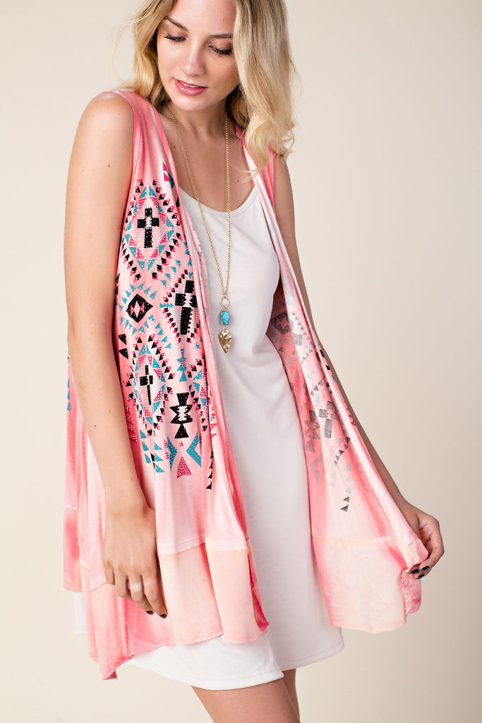 11089 S/less Jewel Vest