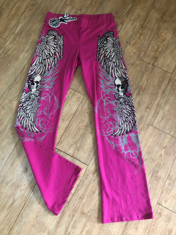 Bus stop Velour Pant Pink