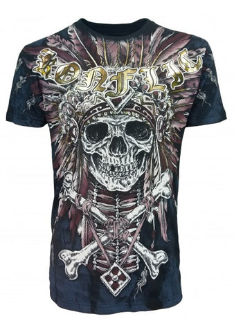 Konflic T817 Skull Cross