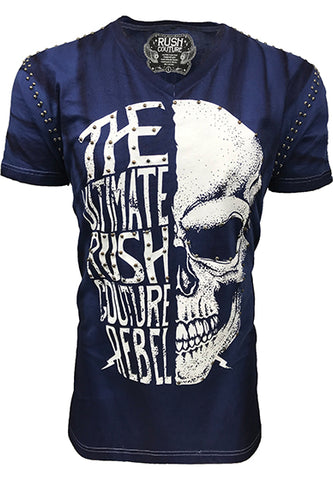 Rebel Skull Navy