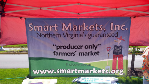 Smart Markets tent at the Farmers Market in Springfield