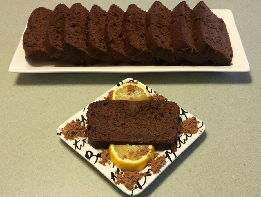 Lemon Chocolate Banana Bread