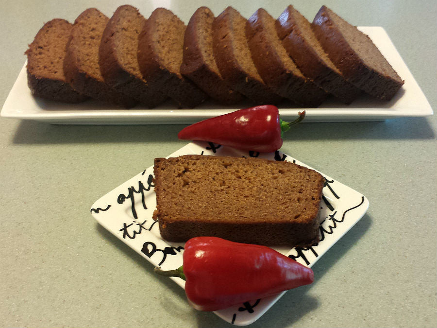 Sweet Cayenne banana bread
