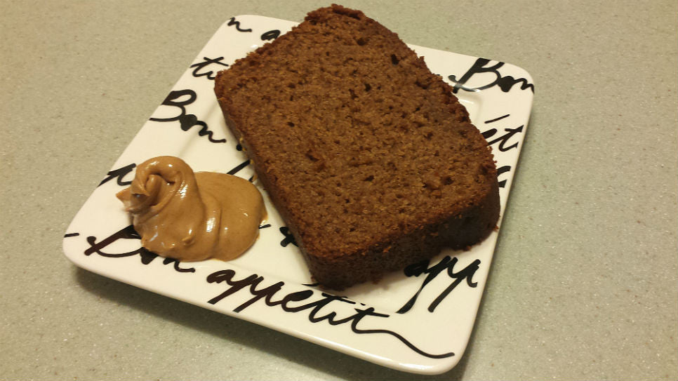 Peanut Butter Delight™ banana bread