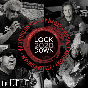 Sammy Hagar & The Circle - Lockdown 2020 CD.