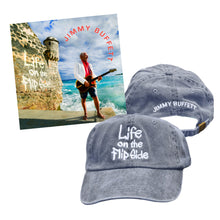 Load image into Gallery viewer, Life on the Flip Side CD + Cap Bundle