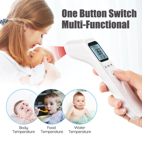Multi-Functional Forehead Thermometer