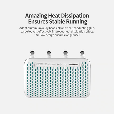 Router Heat Dissipation Ensures Stable Running