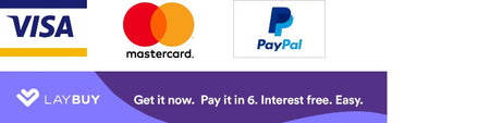 Badge Payments, Visa, Mastercard, Paypal and Laybuy
