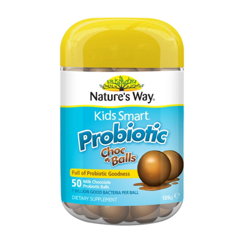 Nature's Way Kids Smart Probiotic Choc Balls 50