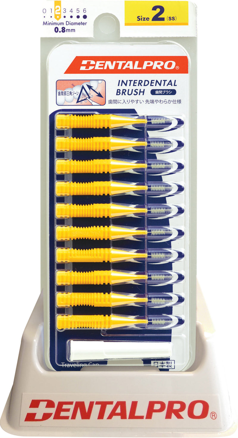DentalPro Interdental Brushes Size 2