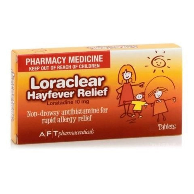 Loraclear Hayfever Relief 10mg Tablets 90 [limited to 2 per order]