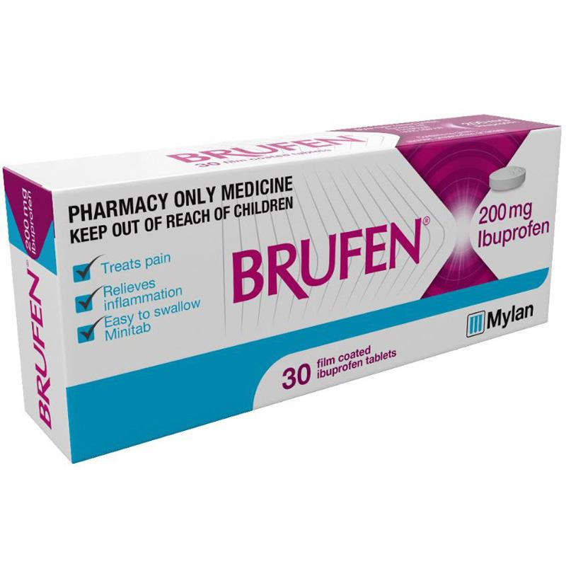 BRUFEN Tablets 200mg 30s