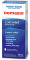 Demazin Cold Relief Blue Syrup 200ml