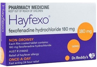 Dr Reddy Hayfexo 180mg Tablets 70 - Quantity Restrictions (3 per order)