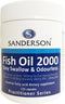 SANDERSON Fish Oil 2000 220caps