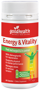 Good Health Energy & Vitality 60 Capsules