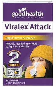 Good Health Viralex Attack Capsules 60