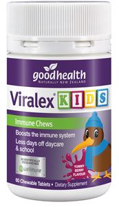 Good Health Viralex Kids 60 Chewable Tablets