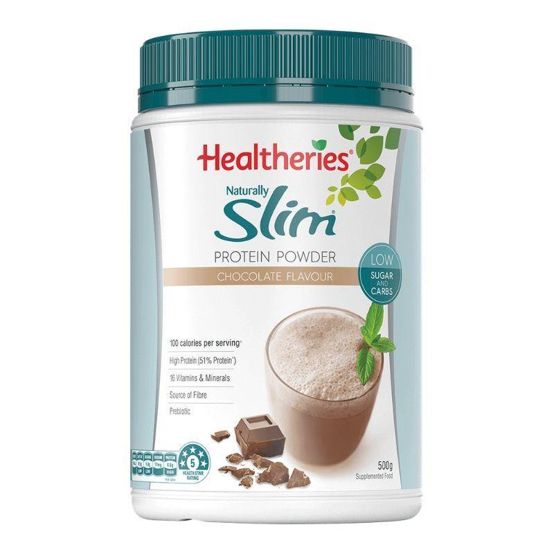 Healtheries Naturally Slim Powder - Chocolate Flavour 500g