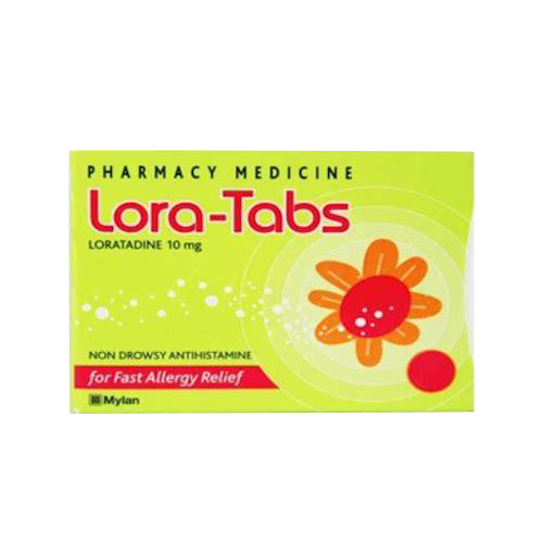 Lora-Tabs Allergy & Hayfever 10mg 90 Tablets [limited to 2 per order]
