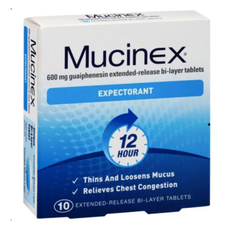 Mucinex SE 600mg 10 Tablets
