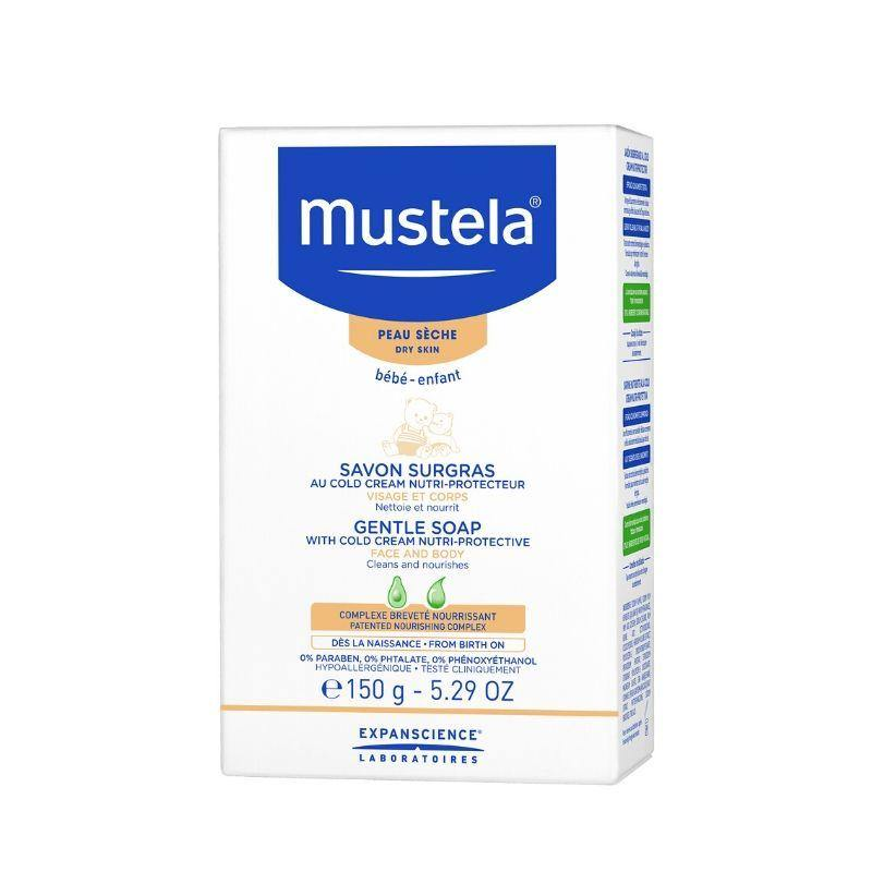 Mustela Nourising Soap with Cold Cream 150g