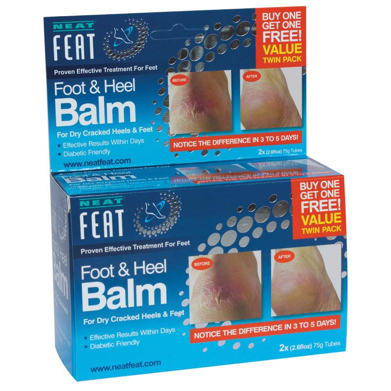 Neat Feat Foot & Heel Balm 75g Twin Pack