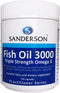 SANDERSON Fish Oil 3000 150caps