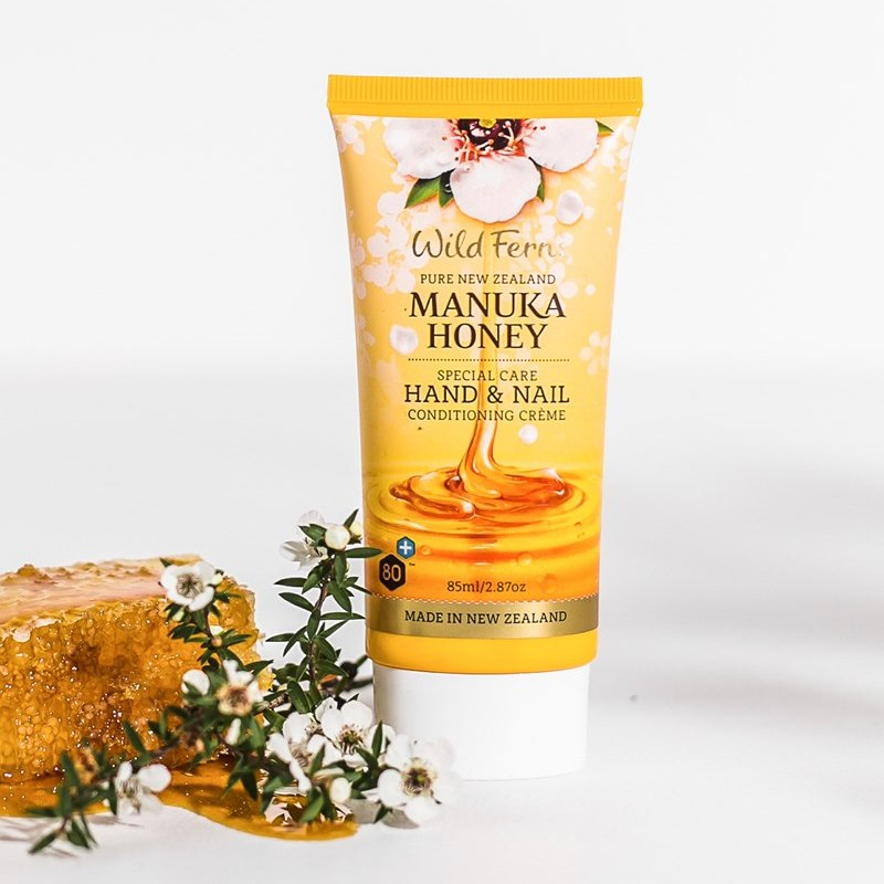 Wild Ferns Manuka Honey Special Care Hand and Nail Conditioning Creme 85ml